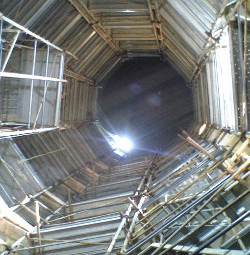 Ristrutturazione silos in c.c.a. per stoccaggio cereali