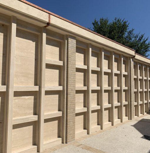 Completamento lavori Cimitero Comunale di Recanati